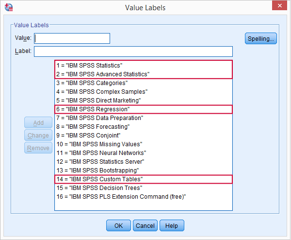 SPSS Overview Commands