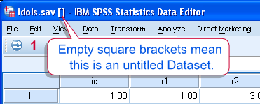 SPSS Untitled Dataset